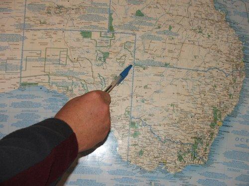 Travel Map, Australia