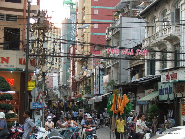 Street Scene, Saigon, Ho Chi Minh City, Vietnam