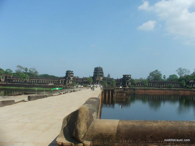 Angkor Wat's main moat, Cambodia