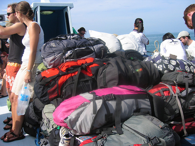 Backpacks On the Way to Koh Phi Phi, Thailand Photo: saucy_pan via flickr