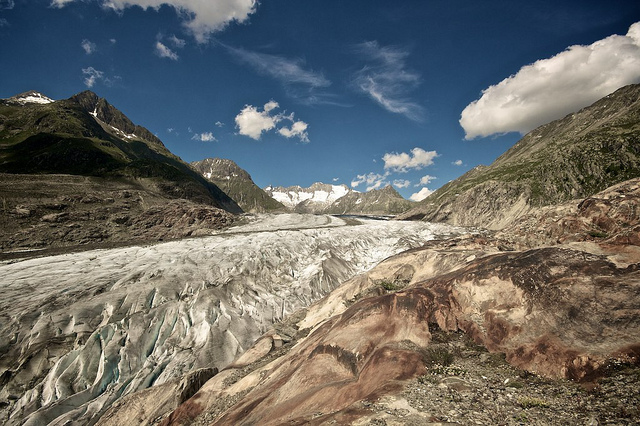 Aletsch Glacier Photo: David Abet via flickr.com