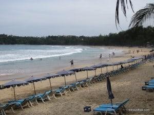 Kata Beach, southern end, Phuket, Thailand