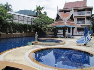 Typical place to stay hotel Kata beach phuket