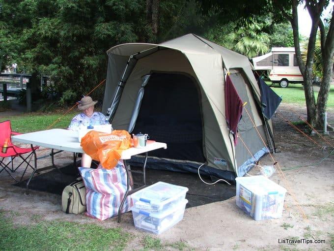 Camping, Australia