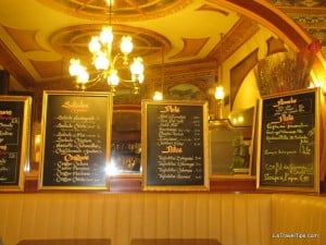 Paris restaurant interior
