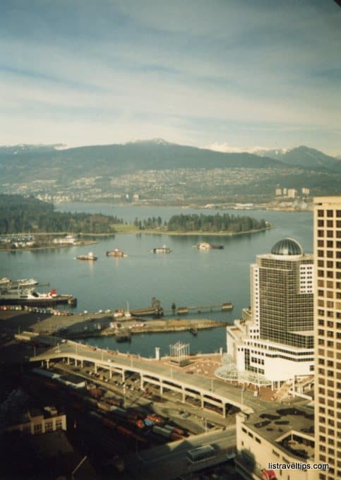 view from Vancouver Lookout