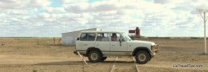 Truckie on the Oodnadatta Track and the Old Ghan Railroad