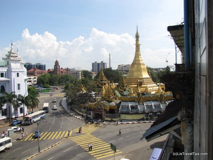 Sule Pagoda, Central Yangon