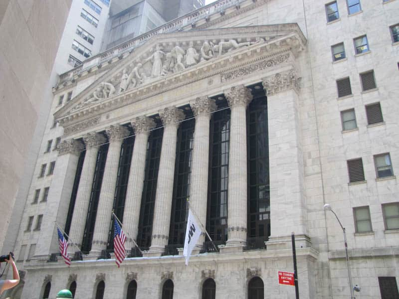 A Bank on Wall Street, New York