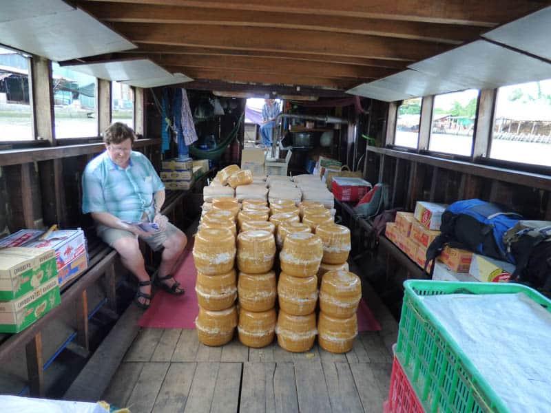 Cargo boat - Mekong Delta