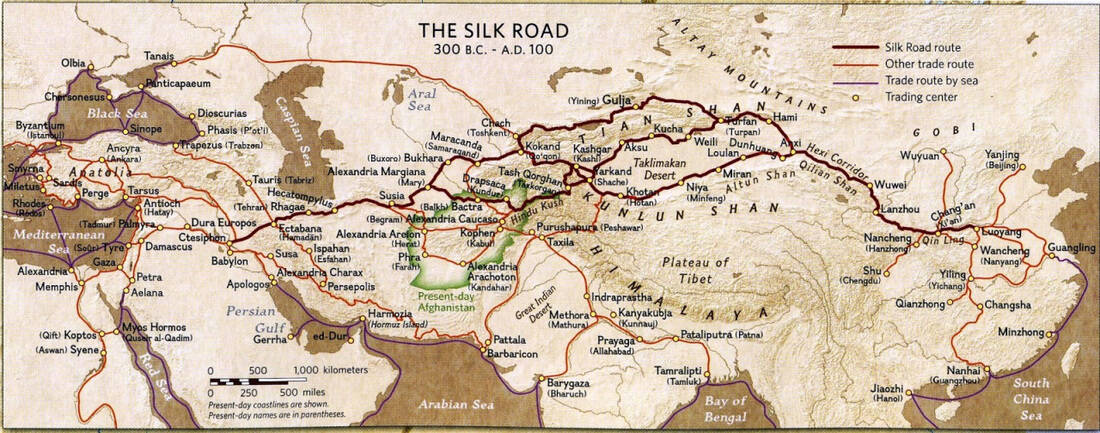 Silk Road travel itinerary options